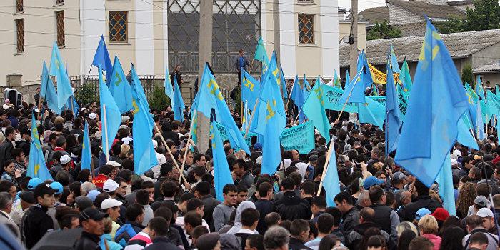 Съезд лишил Джемилева и Чубарова права говорить от имени крымских татар