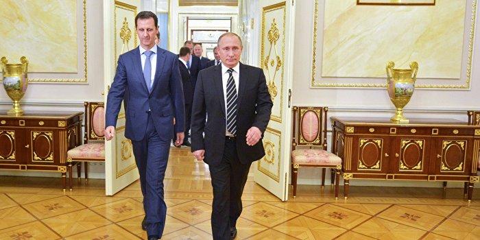 Путин: Мы «не виляем хвостом» в работе с Асадом и США