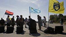 На Херсонщине «афганцы» пообещали уничтожить активистов блокады Крыма