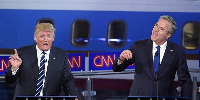 Буш и Трамп: «тупой» и «придурок»