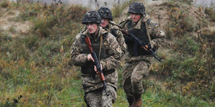 Украинские силовики перестреляли друг друга в Донбассе
