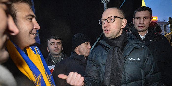 Саакашвили: Конфликт был не с Аваковым, а с Яценюком