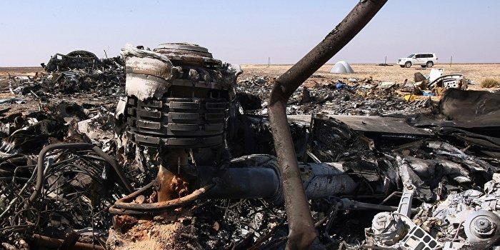 Российский самолет подорван американской взрывчаткой