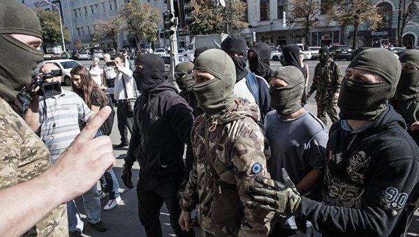 В Харьковской области нацисты жгут полицаев