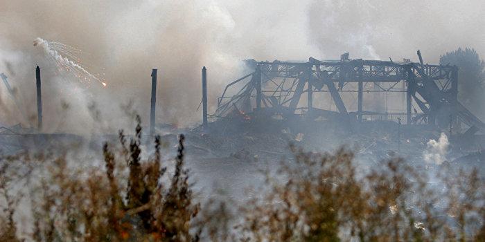 На складе боеприпасов под Харьковом пожар - обвиняют «диверсантов»