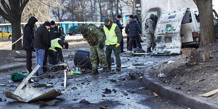 В Киеве теракт, есть жертвы