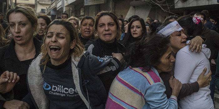Тройной теракт в Сирии: погибли 30 человек