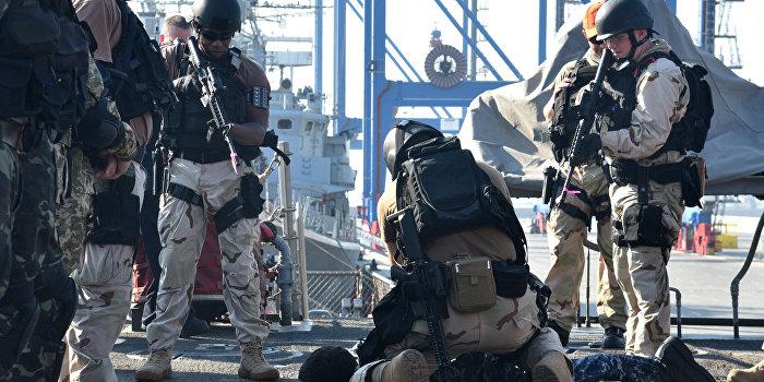 Американские наемники устроили дебош в Мариуполе