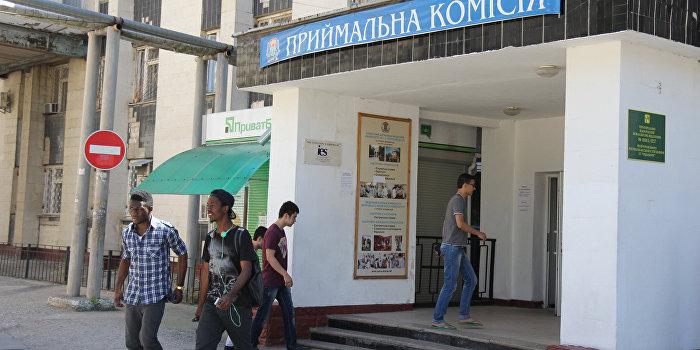 На Украине стартовала вступительная кампания