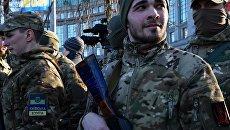 Ветеран АТО наказал блогера, требовавшего говорить по-украински