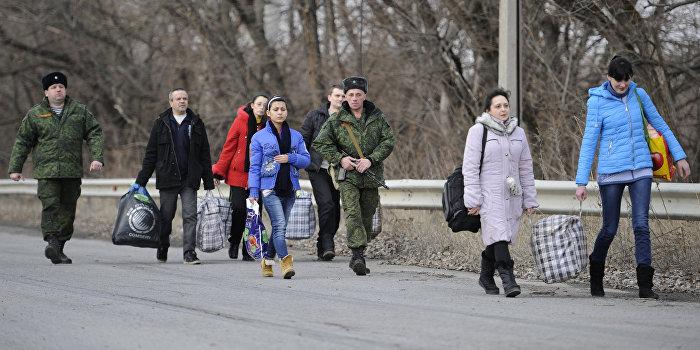 Освобожденные из украинского плена женщины