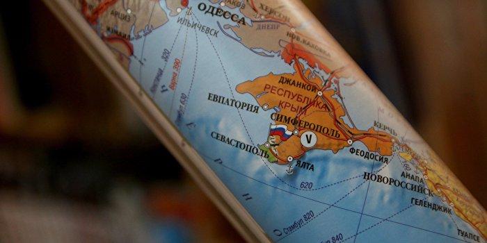 Киевский университет выдал пропуска с картой Украины без Крыма