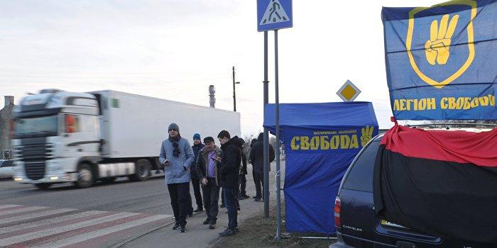 Полиция Украины не способна защитить российские фуры даже за деньги