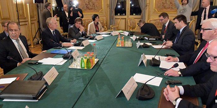 Украина сорвала переговоры «нормандской четверки»