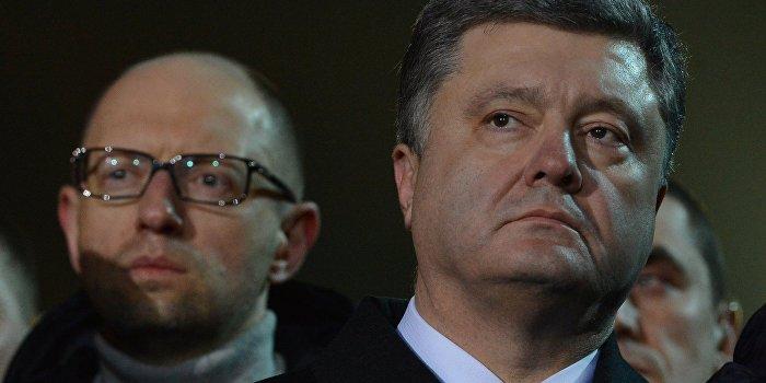 Азаров: Клептократы Порошенко и Яценюк опустошили страну