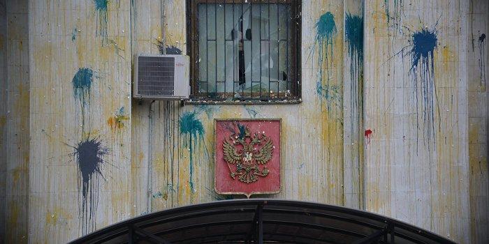 Радикалы «поддержали» Савченко беспорядками у посольства РФ