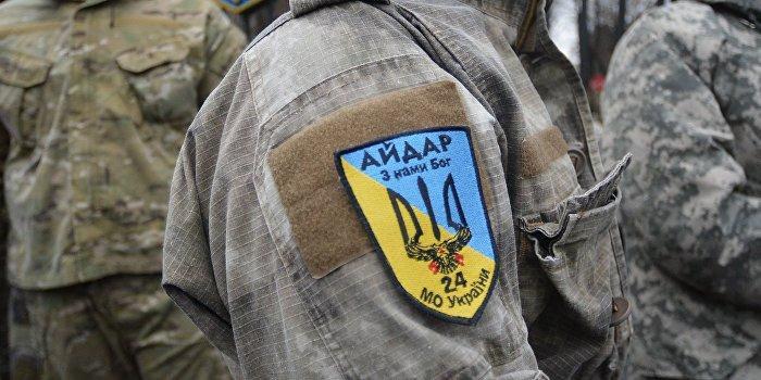 Пьяные «айдаровцы» устроили перестрелку на границе с Крымом