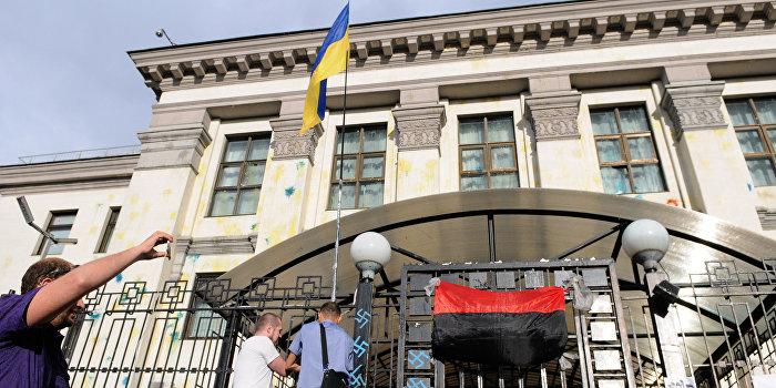Радикалы готовят «майдан» у посольства РФ в Киеве
