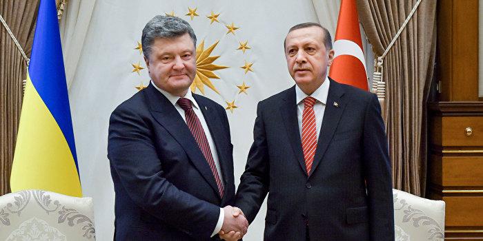 Порошенко подключает Турцию к возвращению Крыма