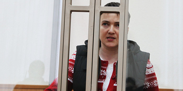 Савченко не возобновит сухую голодовку