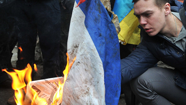 Когда фарс превращается в трагедию: криминальная революция на Украине