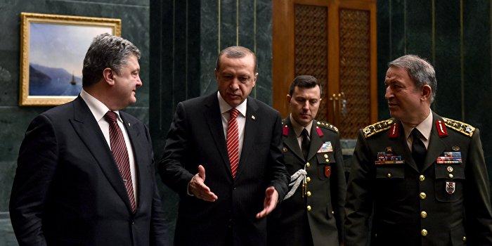 Украина и Турция поделили между собой Черное море