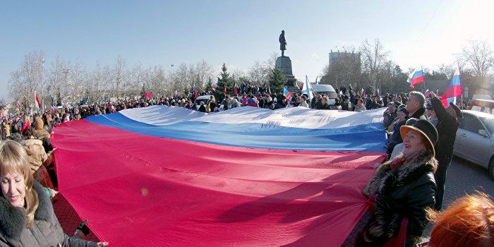 Госдеп увязал антироссийские санкции с Крымом