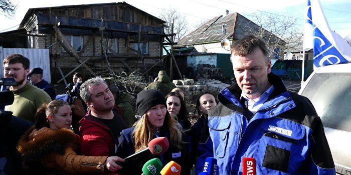 Представитель ОБСЕ обвинил Киев в эскалации конфликта в Донбассе