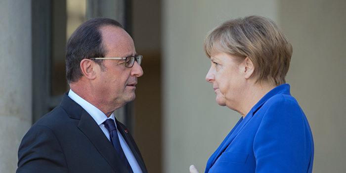Меркель и Олланд настаивают на проведении выборов в Донбассе