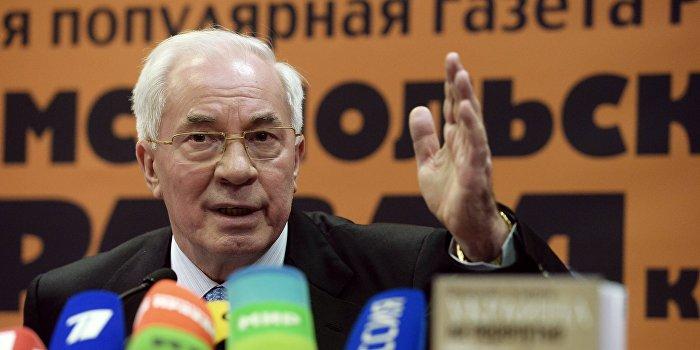 Азаров: На Украине должно возникнуть массовое антивоенное движение