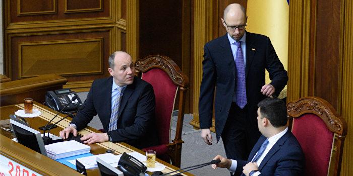 СМИ: Яценюк готов уступить место Гройсману