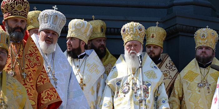 «Киевский патриархат» продал сотни тонн гуманитарной помощи