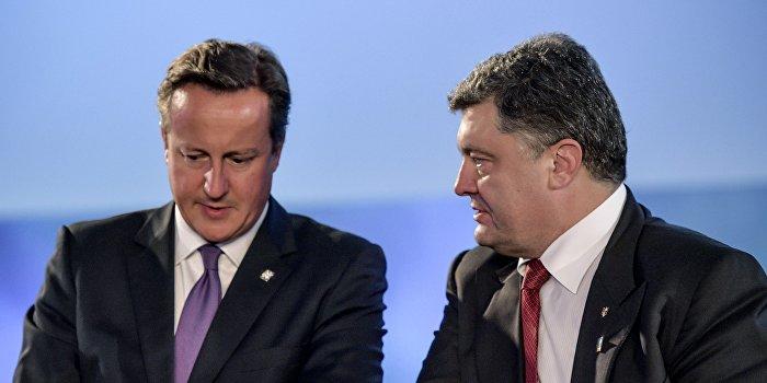 Британия подпишет с Украиной оборонительный договор