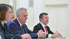Сербия никогда не присоединится к санкциям против России