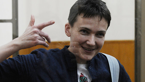 Возвращение Савченко на Украину невыгодно Порошенко