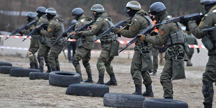 Нацгвардия Украины обеспечена техникой на 40%