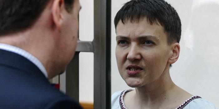 Савченко снова будет голодать