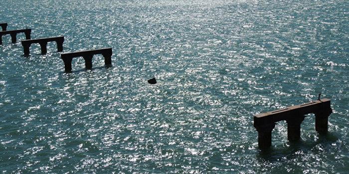 Турецкие моряки отказались извиняться за повреждение опоры моста в Крым