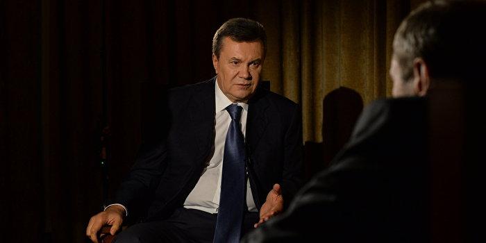 Семья Януковича намеревается взыскать с Украины компенсацию