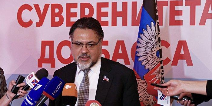 Дейнего ответил на заявление Порошенко о «честных выборах» в Донбассе