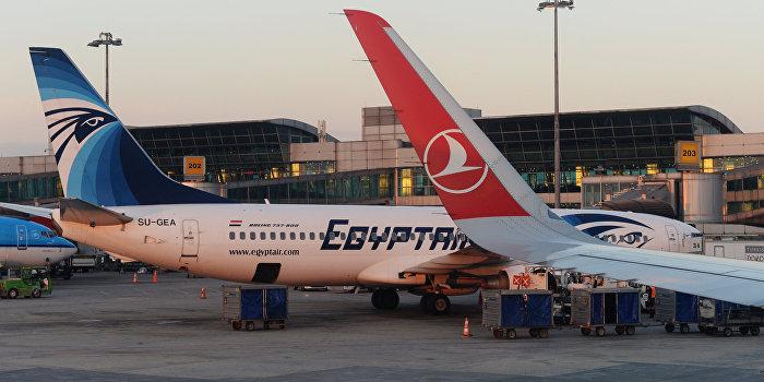 СМИ: Египетский самолет захватил гражданин США