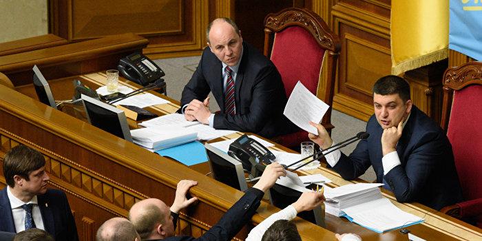Рада легализует внешнее управление на Украине