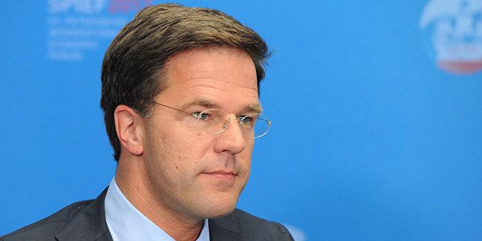 Премьер-министр Нидерландов: Украина никогда не будет в Евросоюзе