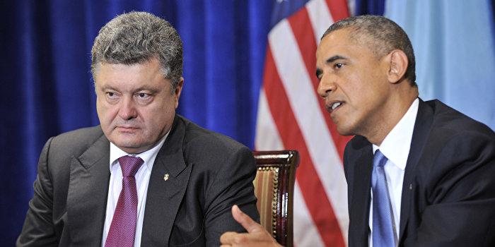 Обама сообщил Порошенко, каким должно быть украинское правительство