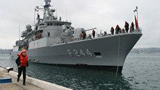 Турецкий десантный корабль прибыл в Одессу