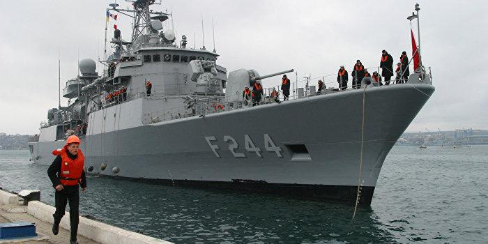 Военные корабли Турции зашли в Одессу