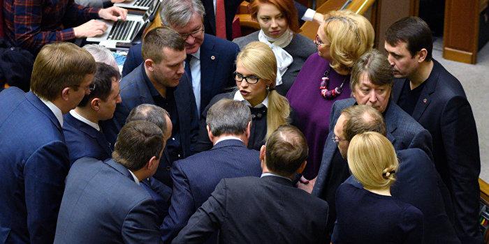Тимошенко заявила об уходе «Батькивщины»  в оппозицию