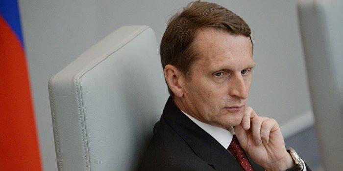 Нарышкин отвел четыре дня на гипотетическую войну с Украиной