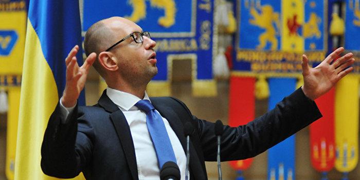 Яценюк превратился в актив отрицательной политической капитализации