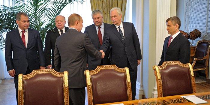 Путин исключил Грызлова из Совета безопасности России